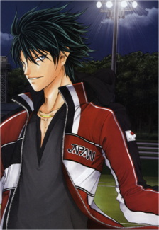 Ryoga in 1st Stringers uniform.