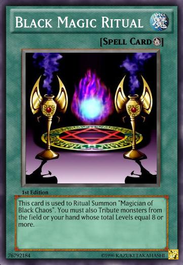 black magic ritual dueling network wiki