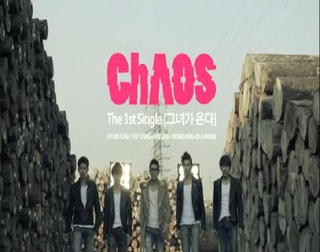 "CHAOS(Debut) >>Single Álbum ""She's Is Coming"" Chaos1ersingle"