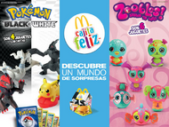 Folleto McDonalds Pokmon 2012 Mxico