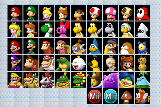 Pics Photos Mario Kart Wii Characters
