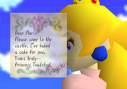 Princess Peach's Letter - Super Mario 64