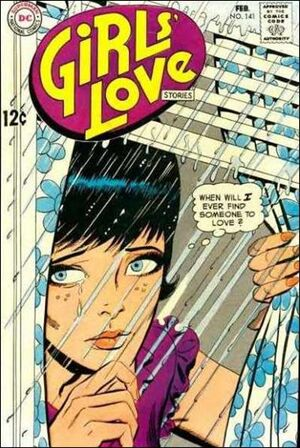 Cover for Girls' Love Stories #141