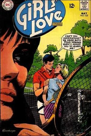 Cover for Girls' Love Stories #135