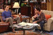 The shiny trinket maneuver Sheldon and Leonard