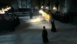 SnapeMcGonagall duel