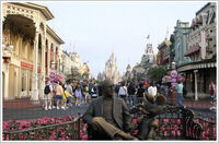 Main Street USA of Magic Kingdom