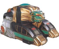 MMPR Lion Thunderzord