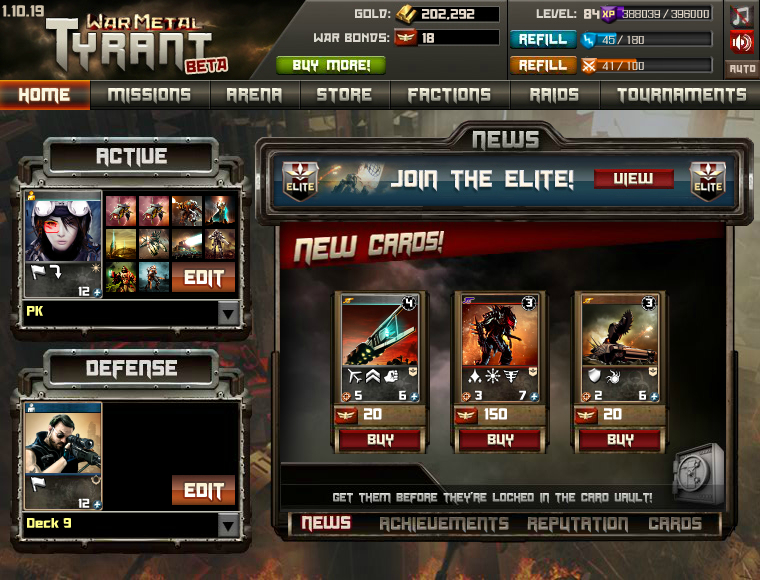 Tyrant war metal kongregate play free games online