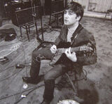 John with Rickenbacker