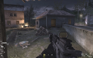 Approaching second house Blackout CoD4