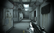 Interior of inner ship passageways Crew Expendable CoD4