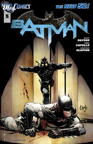Cover for Batman #5