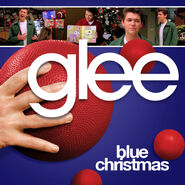 Glee - blue christmas