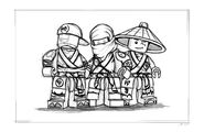 Ninjago Character concepts