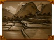 Valley of the Four Winds rice paddies concept art BlizzCon2011