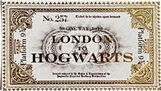 Hogwarts Express - London to Hogwarts Ticket