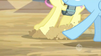Fluttershy showing off her braking skills S2E14