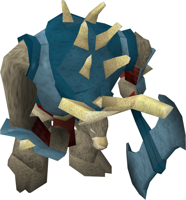 Rune minotaur