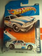 2011 HWR &#39;92 Ford Mustang-White3