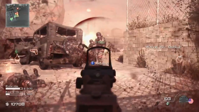 Blood Splatter Survival MW3