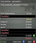 Survival Mode Screenshot Weapons Armory ACR 6.8