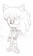 Cesar the Hedgehog&#39;s new design