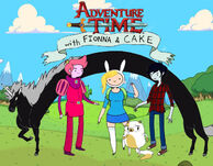 Adventure time with fionna,cake,LM,PG,and Marshall Lee