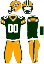 Packers color uniform