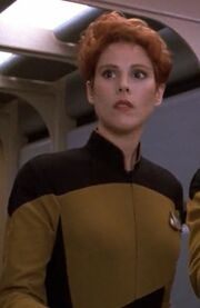 Enterprise-D Female Security Officer