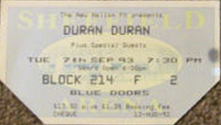 Ticket ebay duran duran wikipedia