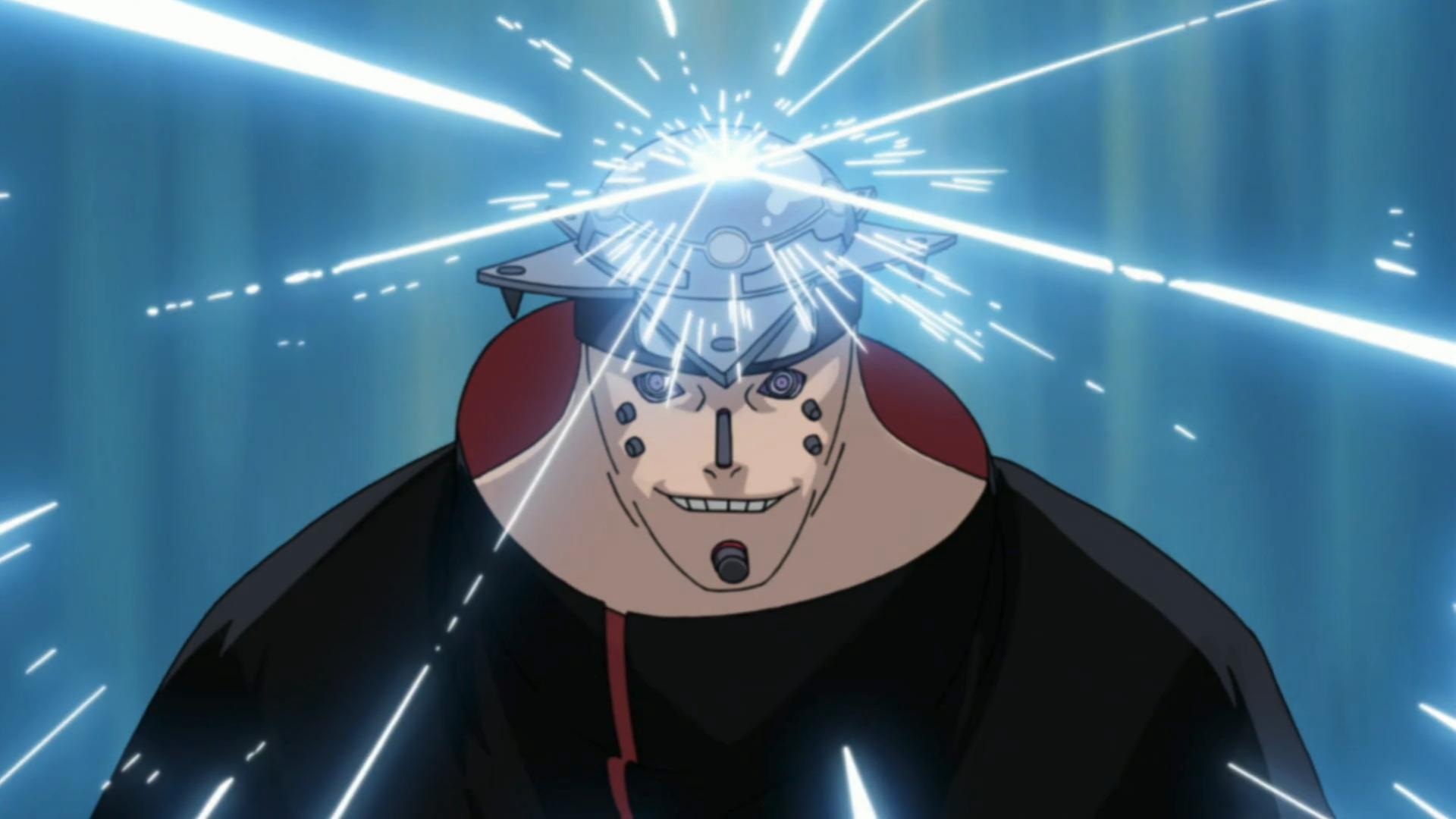 Uzumaki Nagato Asura_path_laser_jutsu