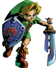 Link Artwork 3 (Majora&#39;s Mask)