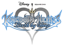 Kingdom Hearts BbS logo