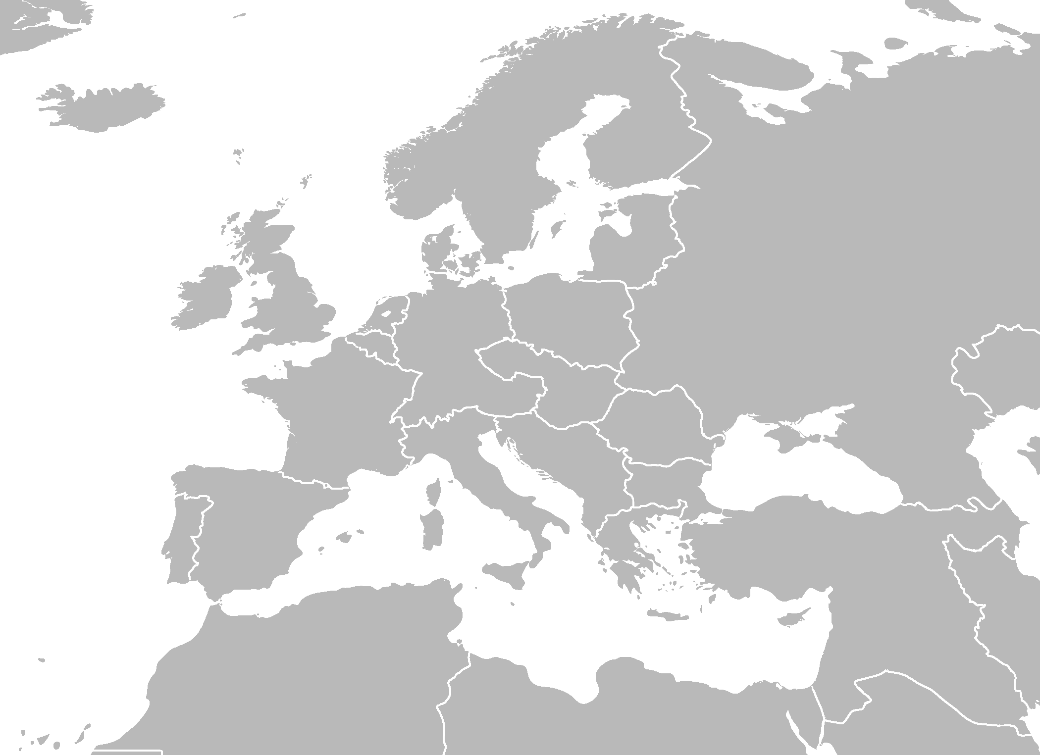 World war 2 map blank blank map of europe during gumiabroncs Gallery