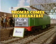 ThomasComestoBreakfast1986titlecard