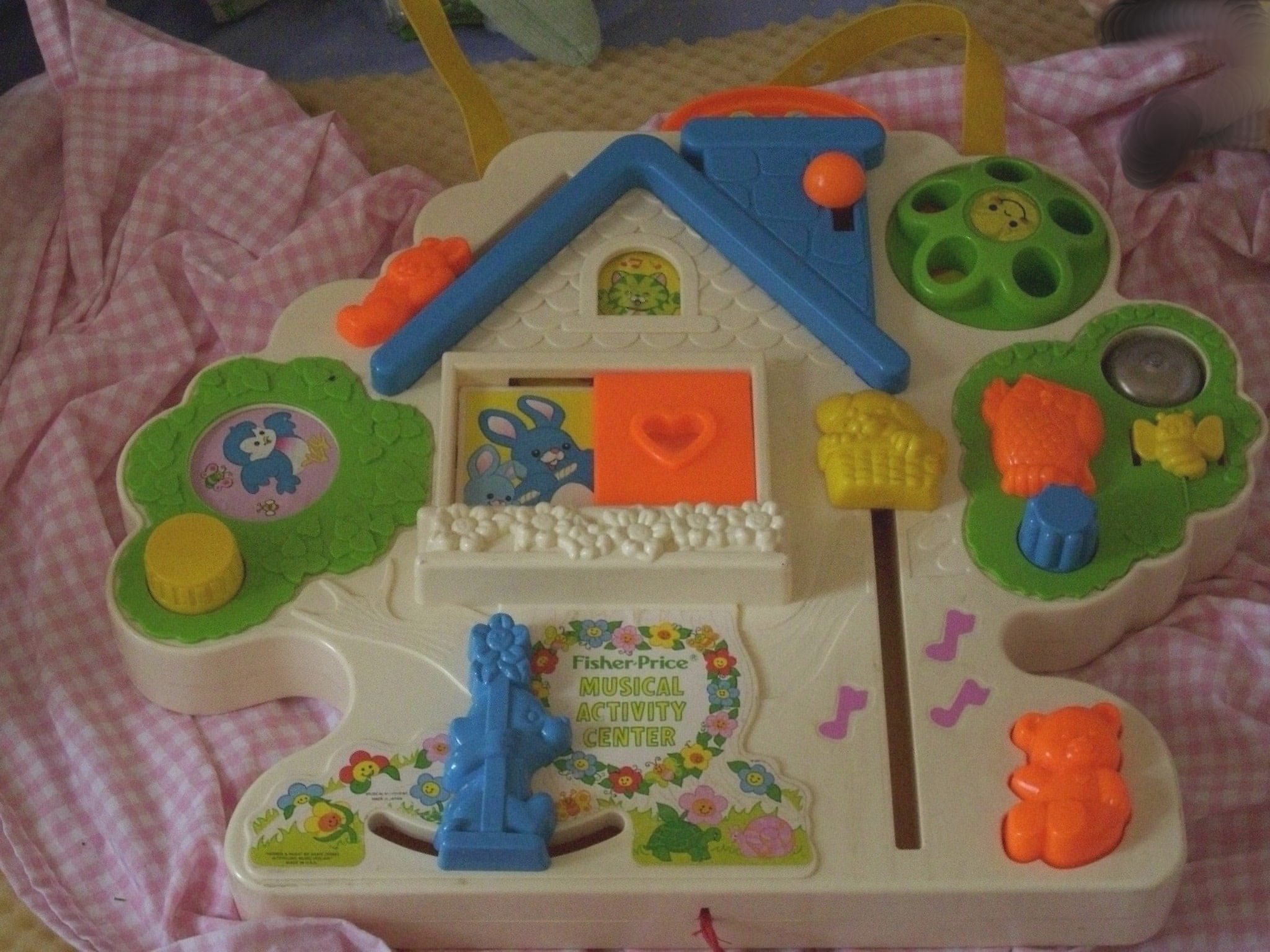 fisher price musical activity center toys wiki. Black Bedroom Furniture Sets. Home Design Ideas
