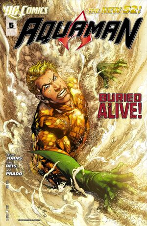 Cover for Aquaman #5