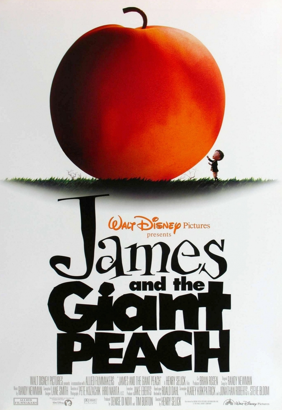 james and the giant peach tim burton wiki