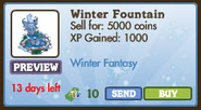 Winter Fountain II Market Info