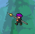 Terraria THE SPEAR!