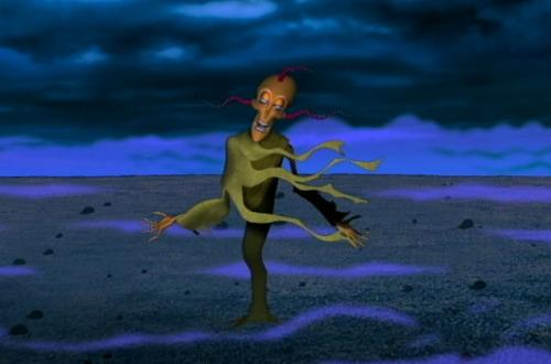 Courage the cowardly dog scary ghost