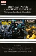 Wolverine, Punisher &amp; Ghost Rider Official Index to the Marvel Universe Vol 1 6