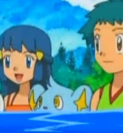 EP558 Shinx en el agua