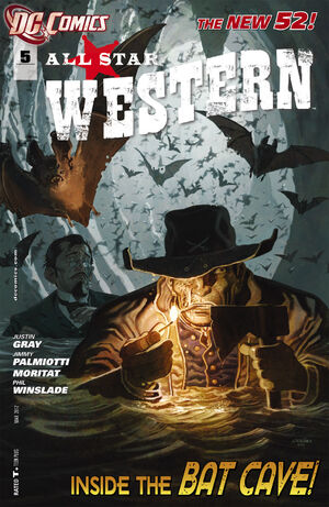 Cover for All-Star Western #5