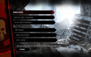 Rage multiplayer menu