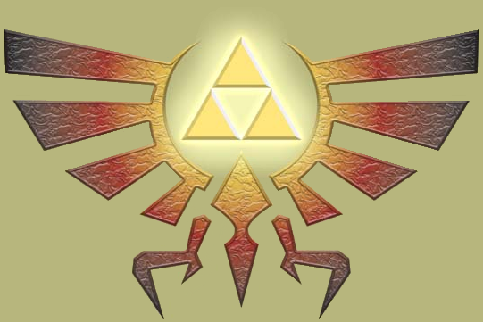 Legend of Zelda Triforce Crest