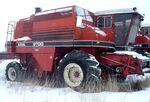 White 9700 Harvest Boss combine - 1982