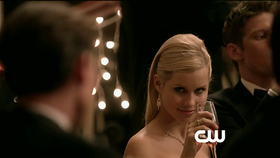 Rebekah seductive look at someone