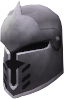 Steel full helm chathead